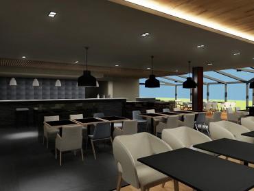 Concept Restaurant du Grand Hôtel des bains à Lavey-Les-Bains